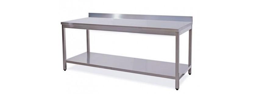 Tavoli da lavoro professionali in acciaio inox linea - Tavoli inox per ristorazione ...