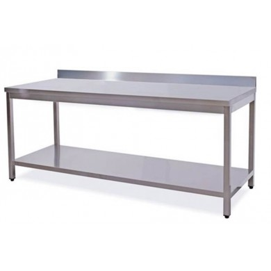Tavolo su gambe con ripiano 170x70x85 cm