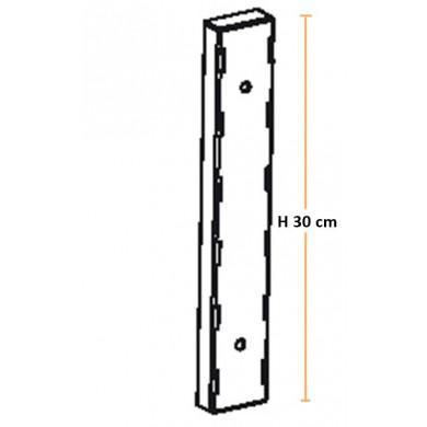 Kit 2 Cremagliere H 30 cm