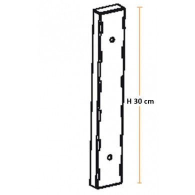 Kit 3 Cremagliere H 30 cm