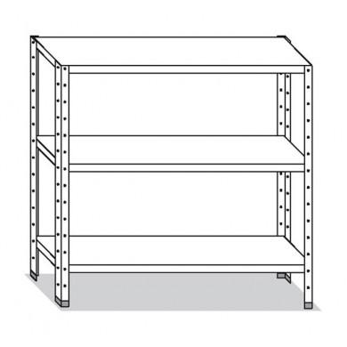 Scaffale 80x50x150 cm