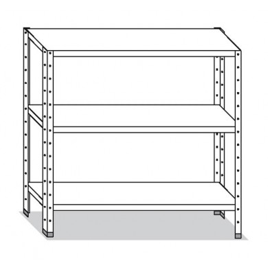 Scaffale 130x30x150 cm