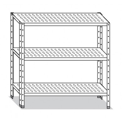 Scaffale 60x40x150 cm