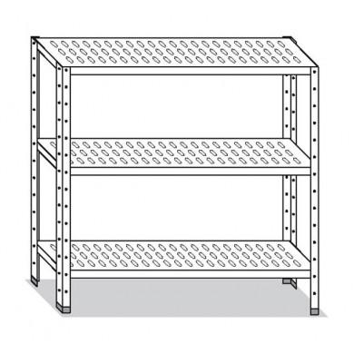 Scaffale 130x60x150 cm