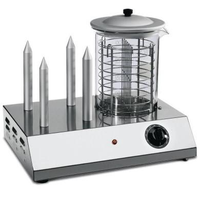 Hot Dog 4 chiodi riscalda pane