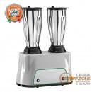 Frullatore professionale 1,5 lt. - 2 Bicchieri inox