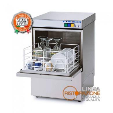 lavabicchieri professionale cesto quadrato 35x35 cm per ristorazione