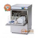 Lavabicchieri professionale cesto 40x40 cm altezza utile lavaggio 27,5 cm