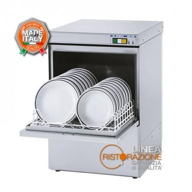 lavastoviglie professionale cesto 45x45 cm per ristorazione Diametro piatti 32 cm Altezza bicchieri 32,5 cm