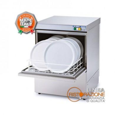 lavastoviglie professionale cesto quadrato 50x50 cm con comandi manuali