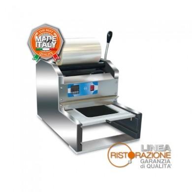 Termosigillatrice per vaschette semiautomatica per laboratori di pasta fresca e macellerie