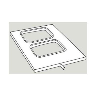 Stampo per termosigillatrice Mould MV 13,8x9,6 cm mod. LRIJ3