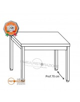Tavolo su gambe 130x70x85 cm