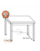 Tavolo su gambe 140x70x85 cm