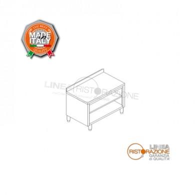 Tavolo Armadiato a Giorno con alzatina 210x60x85 cm