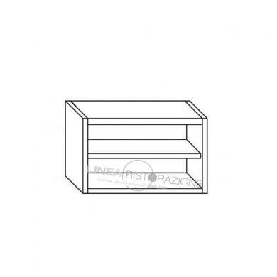 Pensile aperto 200x40x65 cm
