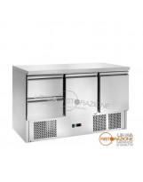 Saladette Refrigerata 2 Cassetti + 2 Vani con Porta