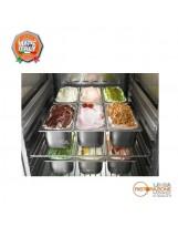Armadio frigo gelateria 900 lt. Temperatura -24°/-10°C