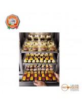 Armadio frigo pasticceria 700 lt. Temperatura -24°/-10°C