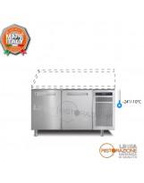 Tavolo congelatore 2 porte Senza Piano Temp. -24°/-10°C