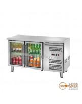 Tavolo refrigerato 2 porte con Piano Temp. -2°/+8°C
