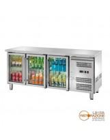 Tavolo refrigerato 3 porte con Piano Temp. -2°/+8°C
