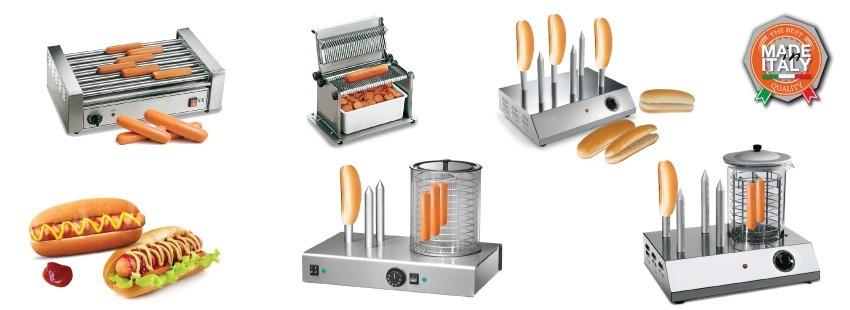 Tagliawurstel, Scaldapane e Girawurstel per Hot Dog