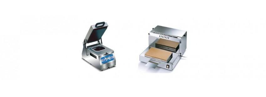 Termosigillatrici di vaschette e Confezionatrici dispenser