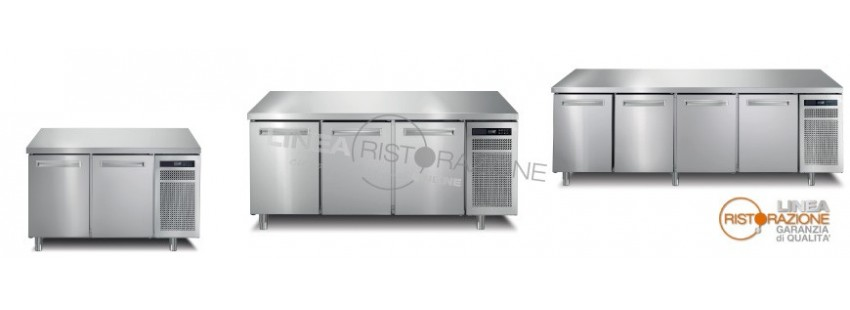 Tavoli refrigerati bassa temperatura Profondità 70 cm (Temperatura -24°/-10°C | -22°/-18°C)