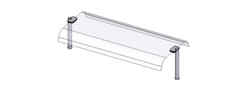 Sovrastrutture con vetro per drop in