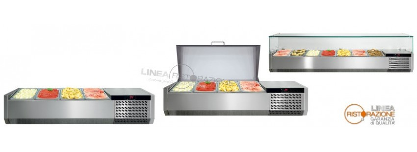 Vetrine Refrigerate Porta Ingredienti Pizza
